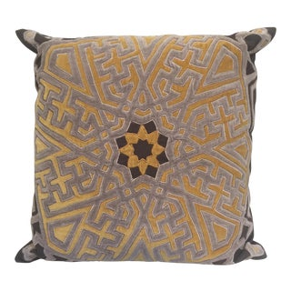 Moroccan Embroidered pillow