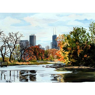 Contemporary Giclee Print - North Pond