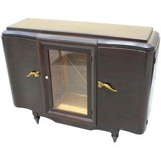 French Art Deco Mahogany Sideboard