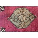 """Image of Mid-Century Red Turkish Oushak Rug - 2'1"""" x 3'1"""""""
