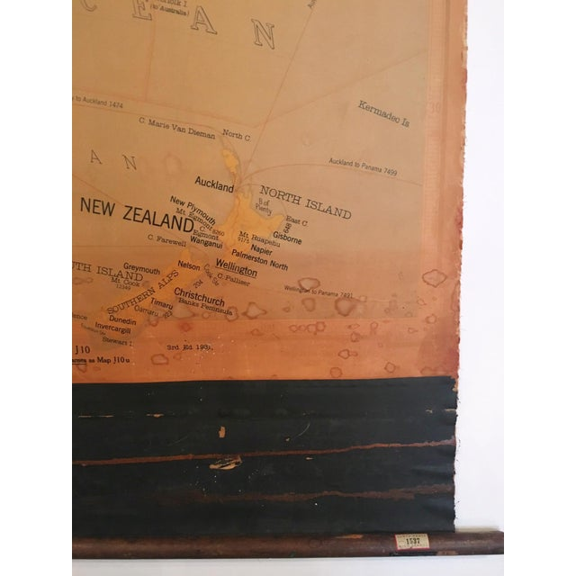 Image of Vintage Map of Australasia