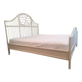 Serena & Lily King Size Rattan Bed
