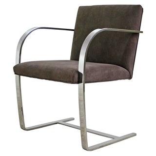 Mies Van Der Rohe Brno Flat Bar Armchair - 2 Avail