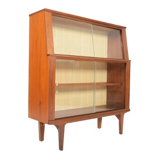 Mid-Century Teak Bookcase Bar