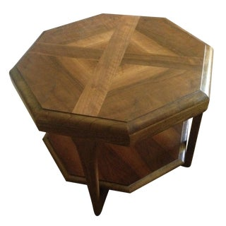 Mid Century Lane Octagon Side/End Table