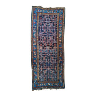 "Antique Persian Runner - 3'10"" x 9'7"""