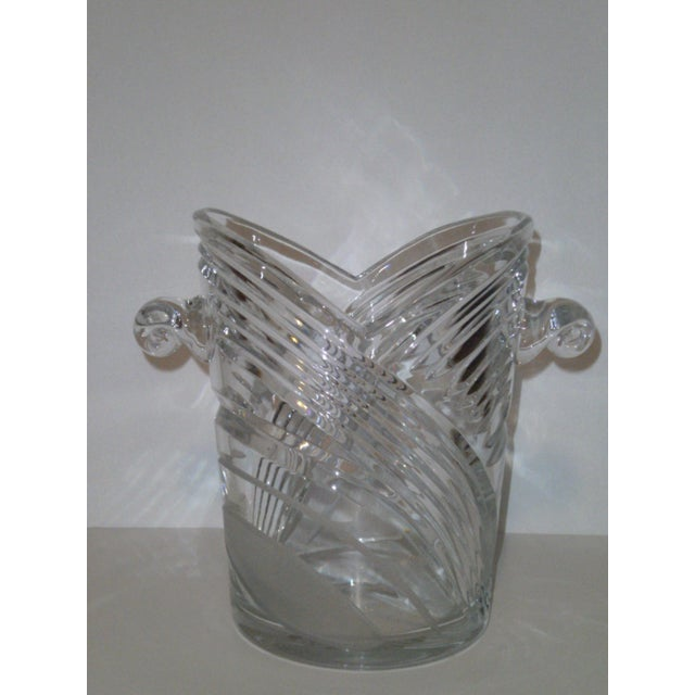 Vintage Crystal Champagne Ice Bucket - Image 3 of 7