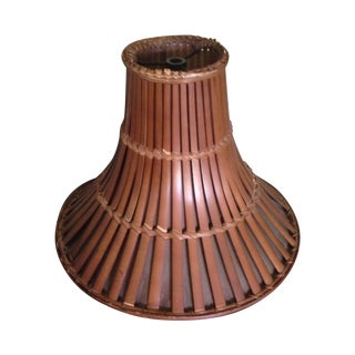 Vintage Rattan Lamp Shade