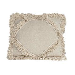 Natural Diamond Fringe Pillow