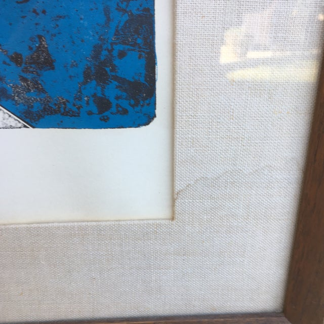 Mid-Century Signed Hans Erni Lithograph - Image 9 of 11
