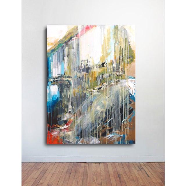 Large Stone & Ice Acryllic Painting by Jaimee - Image 3 of 3