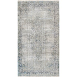 "Overdyed Wool Area Rug - 3'10"" X 6'11"""