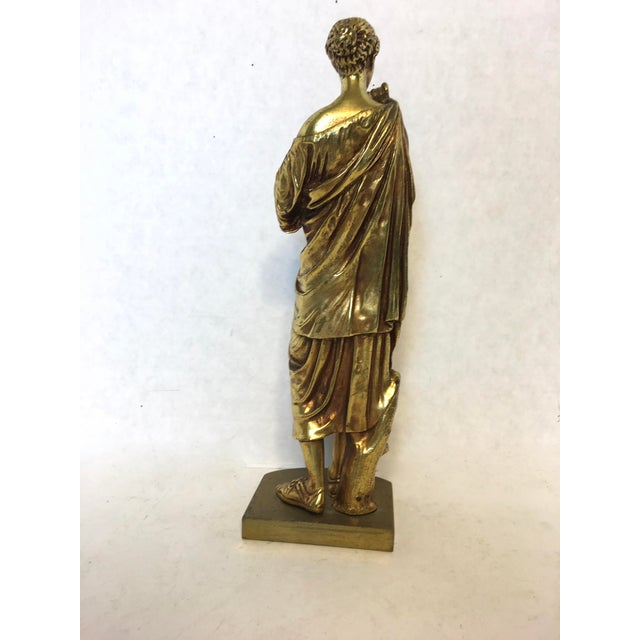 Bronze Neoclassical Grand Tour Statue - Image 3 of 8