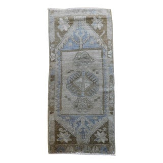 "Turkish Oushak Ushak Rug - 1'6"" x 3"""