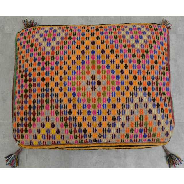 Turkish Kilim Floor Pillow : Turkish Hand Woven Kilim Floor Cushion Cover - 21? X 28? Chairish