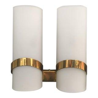 Stilnovo Style Glass Sconces - Set of 2