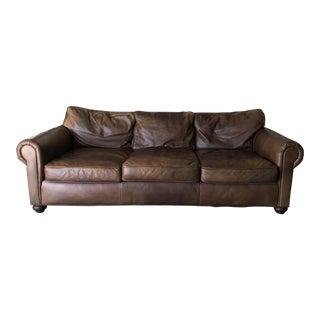 Restoration Hardware Lancaster Nutmeg Sofa