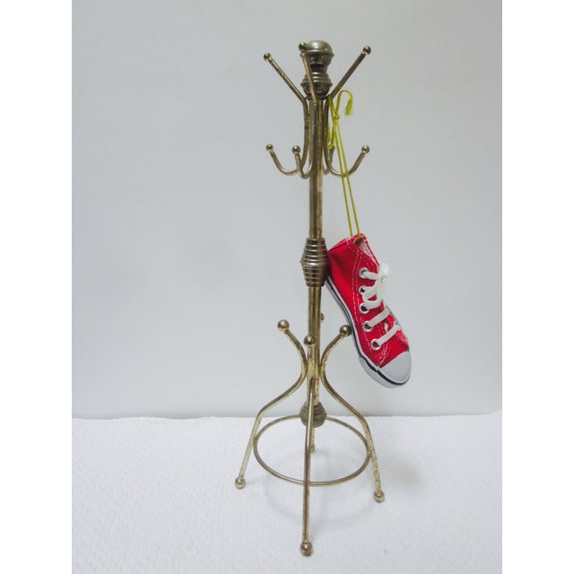 Vintage Brass Hat Rack - Image 5 of 5
