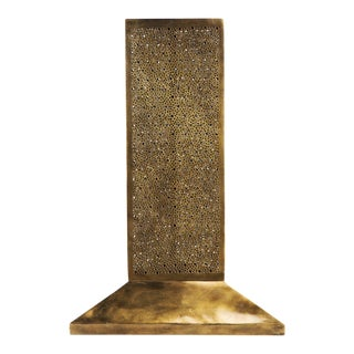 Andalous Gold Stand-Up Lamp