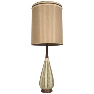Mid-Century Pottery Table Lamp