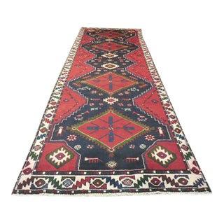 """Persian Tribal Kilim Runner - 3'5"""" x 10'3"""""""