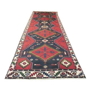 "Persian Tribal Kilim Runner - 3'5"" x 10'3"""