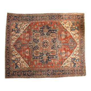 "Antique Serapi Carpet - 9'8"" X 11'8"""