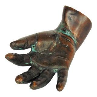 Bronze Right Hand Sculpture