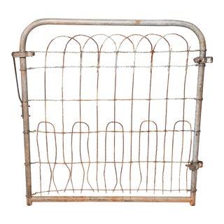 Vintage Rustic Metal Gate