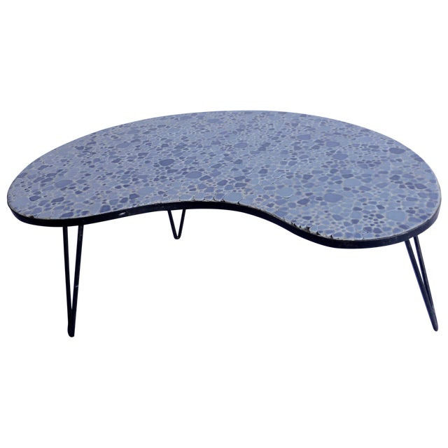 Luther Conover-Style Mosaic Coffee Table