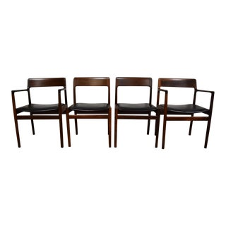 Johannes Norgaard Rosewood Dining Chairs - Set of 4