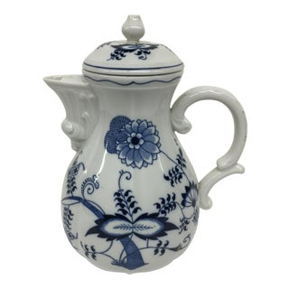 Blue Danube Floral Coffee Pot