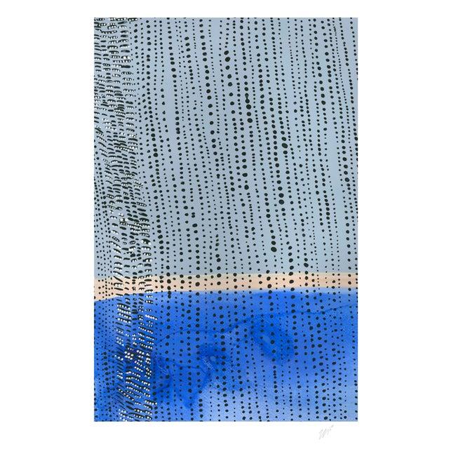 "Shorelines IV - Watercolor Print - 11"" X 14"" - Image 3 of 4"