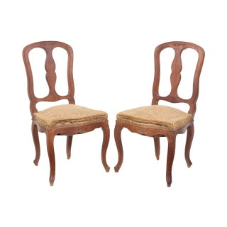 French Farmhouse Chairs - A Pair