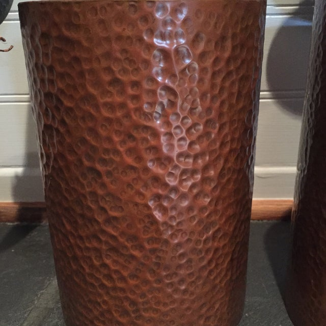 Hammered Copper Sconces - A Pair Chairish