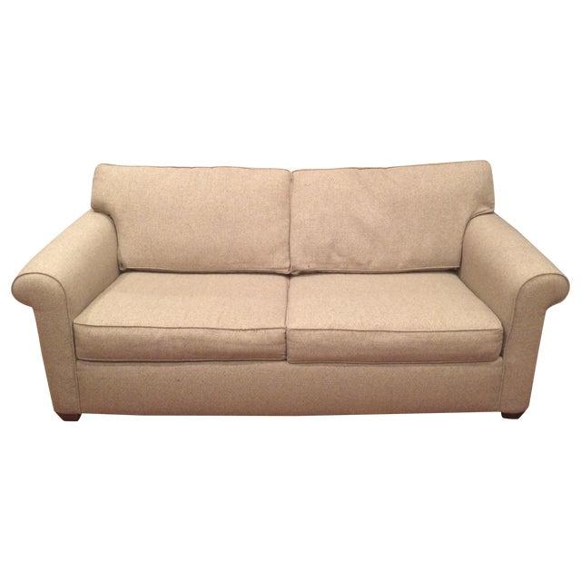 Natural Twill Sleeper Sofa - Image 1 of 8