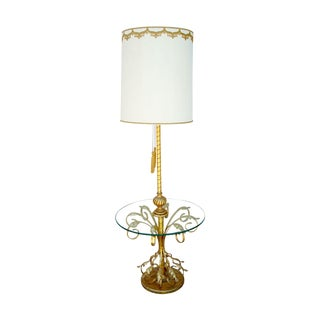 Hollywood Regency Glam Floor Lamp