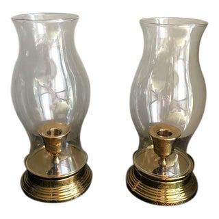 Vintage Campaign Lanterns - A Pair