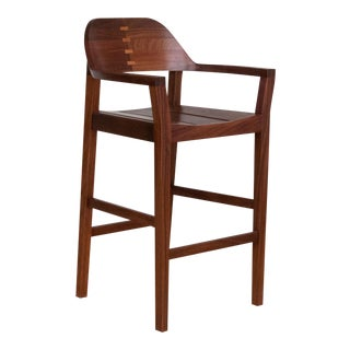 Mid-Century Modern Xiloa Bar Stools - Set of 4