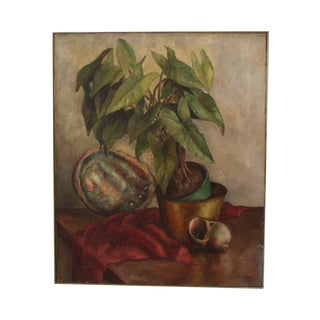 Still Life Painting on Canvas by Doris Zinn