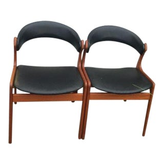 Mid-Century Swedish Modern Chairs - A Pair