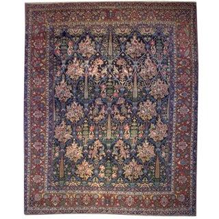 Early 20th Century Persian Bakhtiari Carpet,