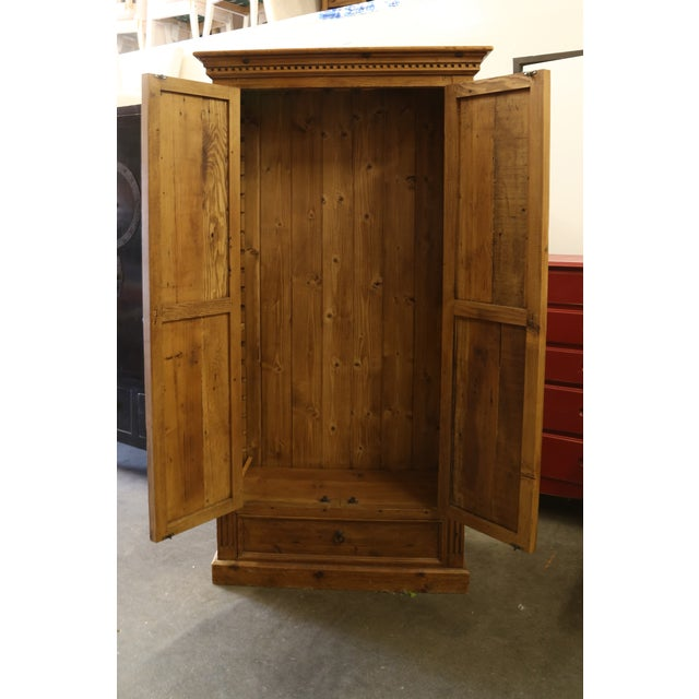 Pine Jelly Cabinet or Armoire - Image 4 of 4