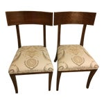 Image of Klismos Chairs - A Pair