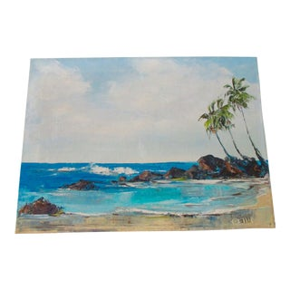California Plein Air Seascape Painting