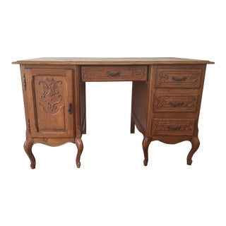 French Country Oak Desk