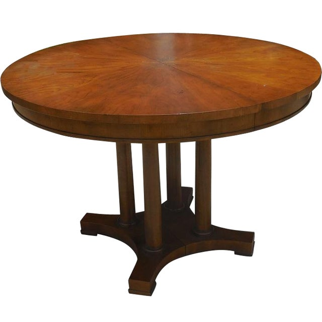 Baker furniture round center table chairish for Furniture centre table