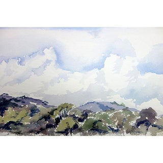 Betty Levasheff Hills Under Blue Sky