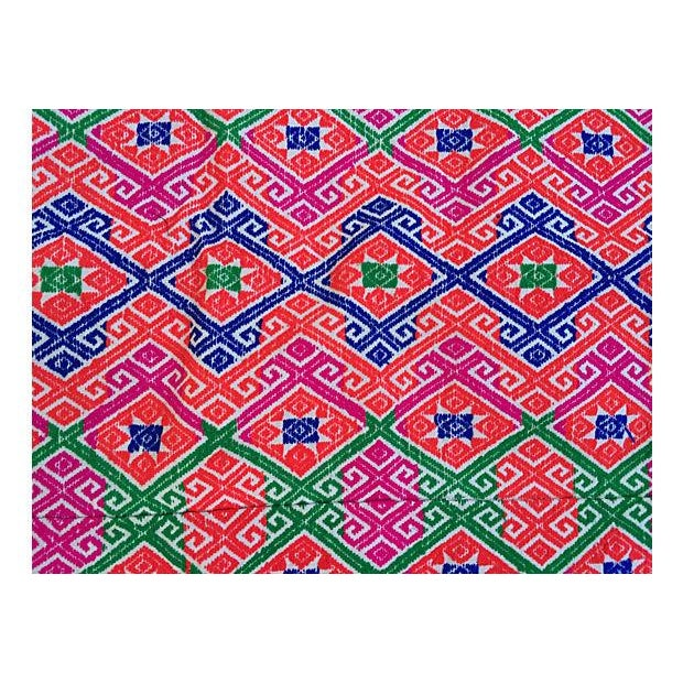 Hmong Tribal Marriage Quilt - Image 2 of 4