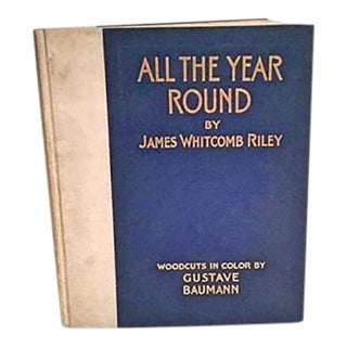 Gustave Baumann Art Book 'All the Year Round'
